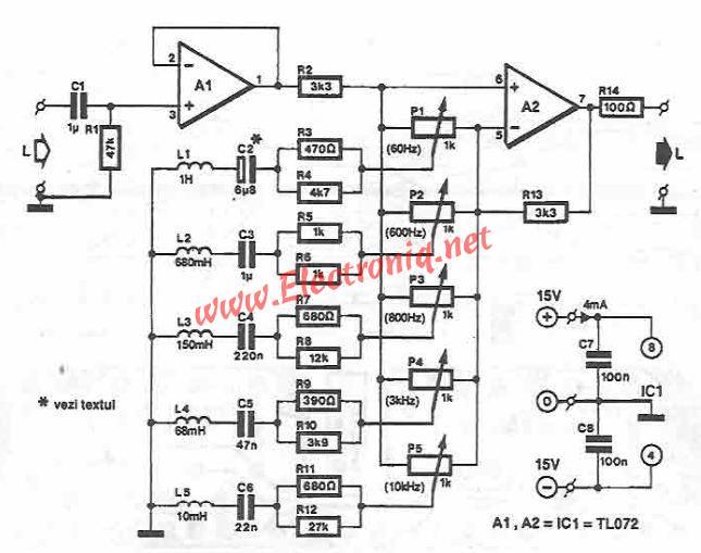 equalizer circuit