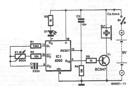 new electronics projects circuit diagram