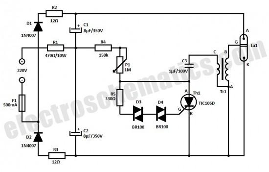 strobe led circuit