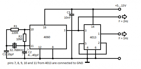 frequency generator circuit frequency generator circuit