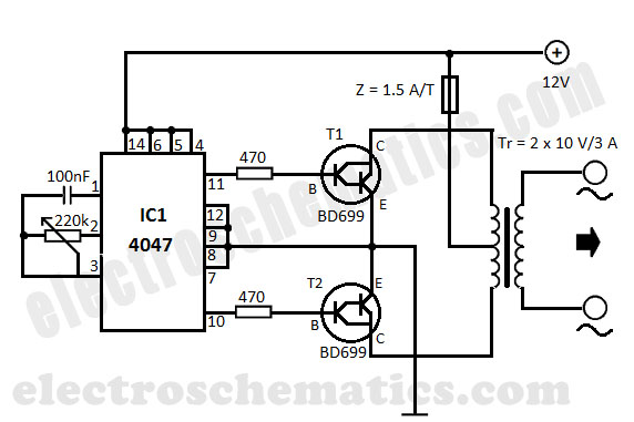 projects ac to dc 10v rectifier