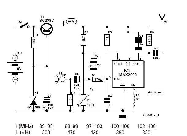 max2606 vhf fm transmitter