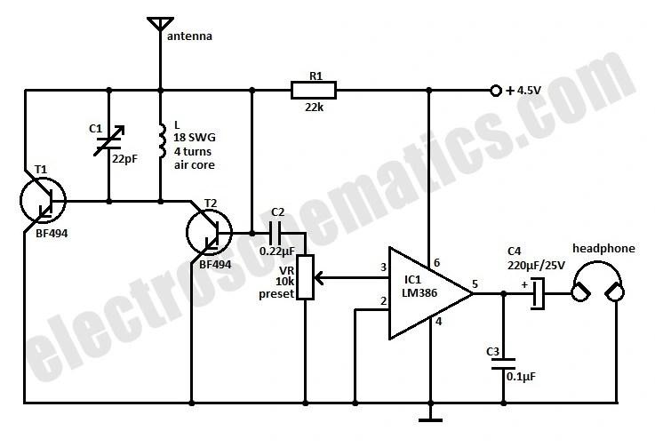 Pleasing F M Receiver Circuit Diagram Free Basic Electronics Wiring Diagram Wiring 101 Kniepimsautoservicenl