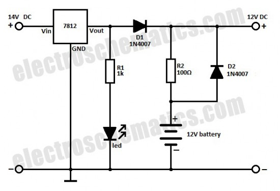 rechargeable battery circuit