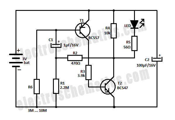 led flasher circuit 3 volt