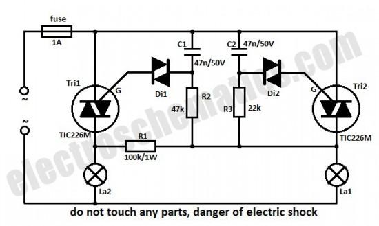 circuit light intensity monitor hobby circuit