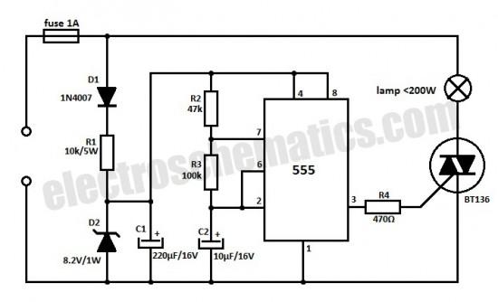 cupboard lights circuit