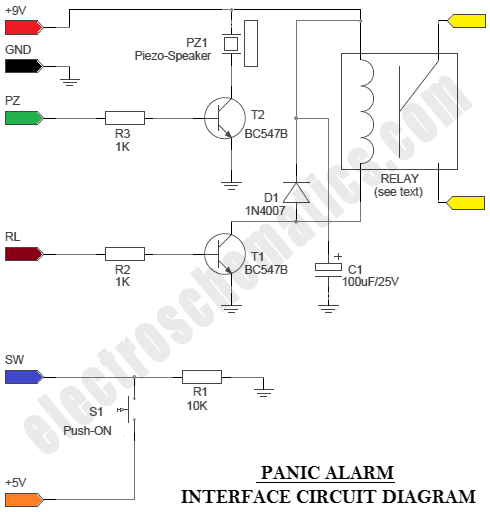 Clifford Alarm Wiring Diagrams Arduino Panic Alarm Project