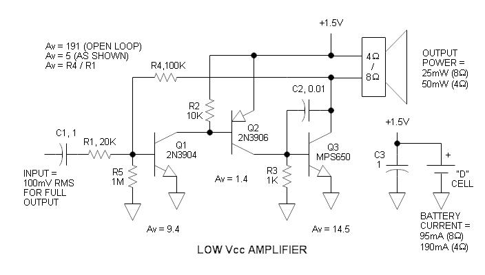 Amplifier Schematic Diagram - Wiring Diagram Schematic
