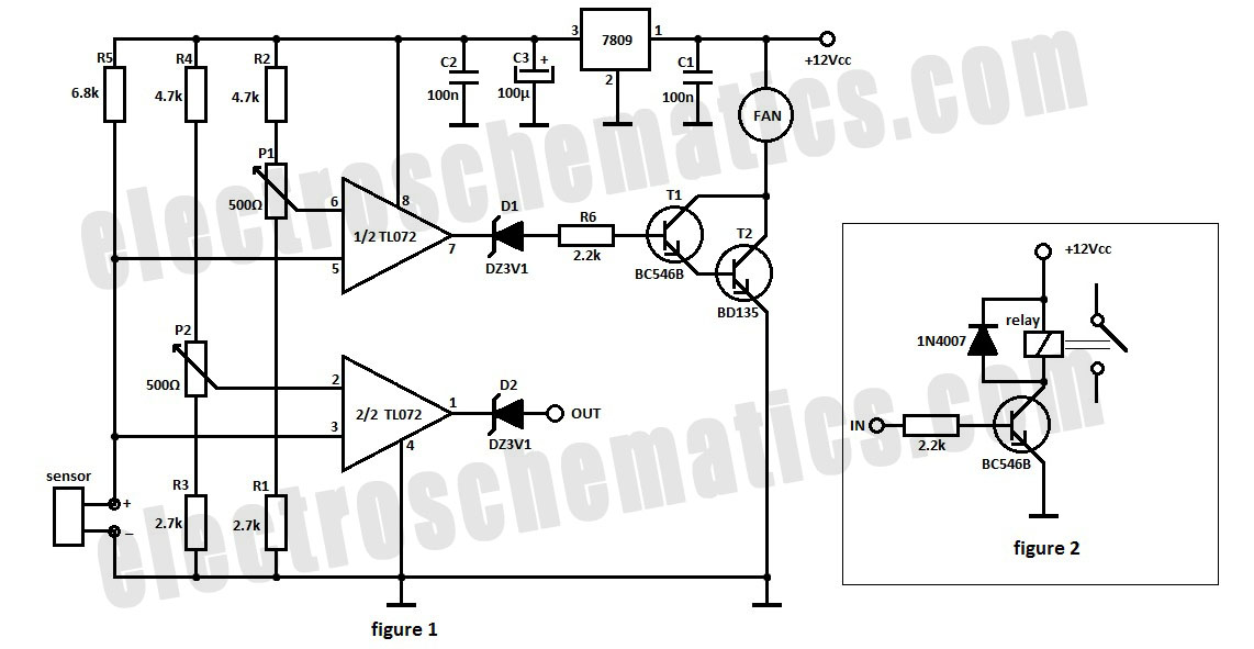 home various processor fan controller circuit