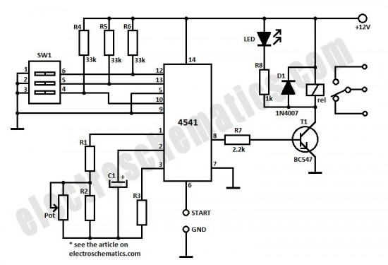 dip switch schematic