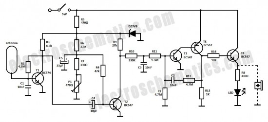 electrical circuit schematics