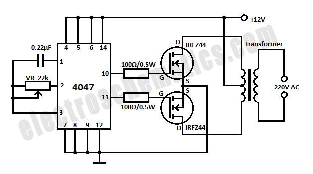 DC to AC Inverter