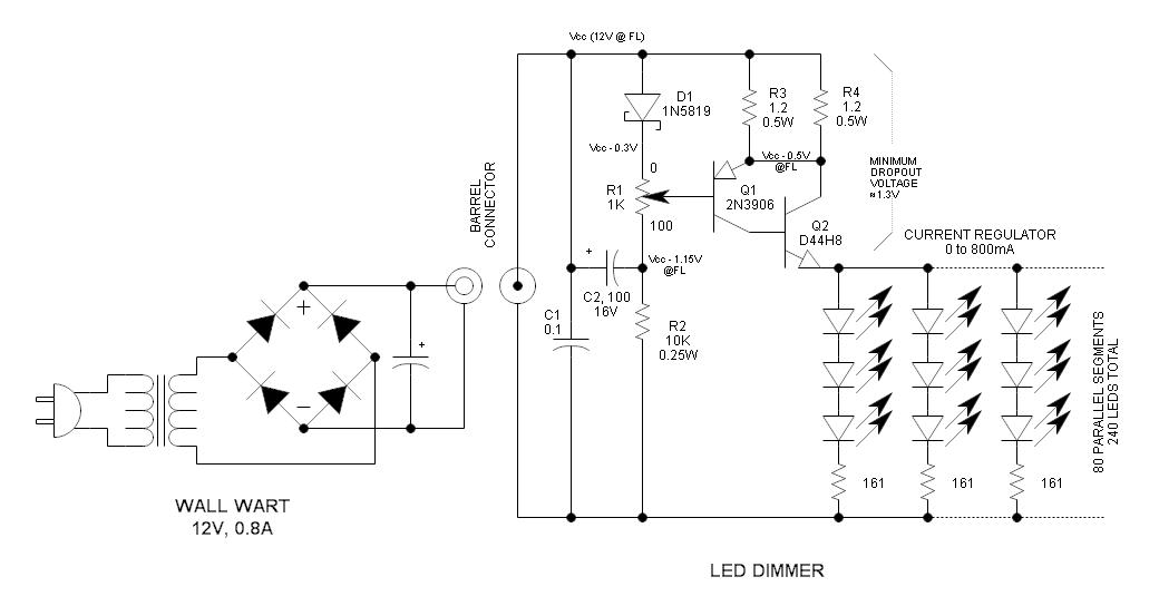 led dimmer wiring diagram free picture schematic