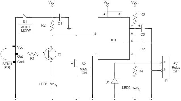water pump control circuit diagram