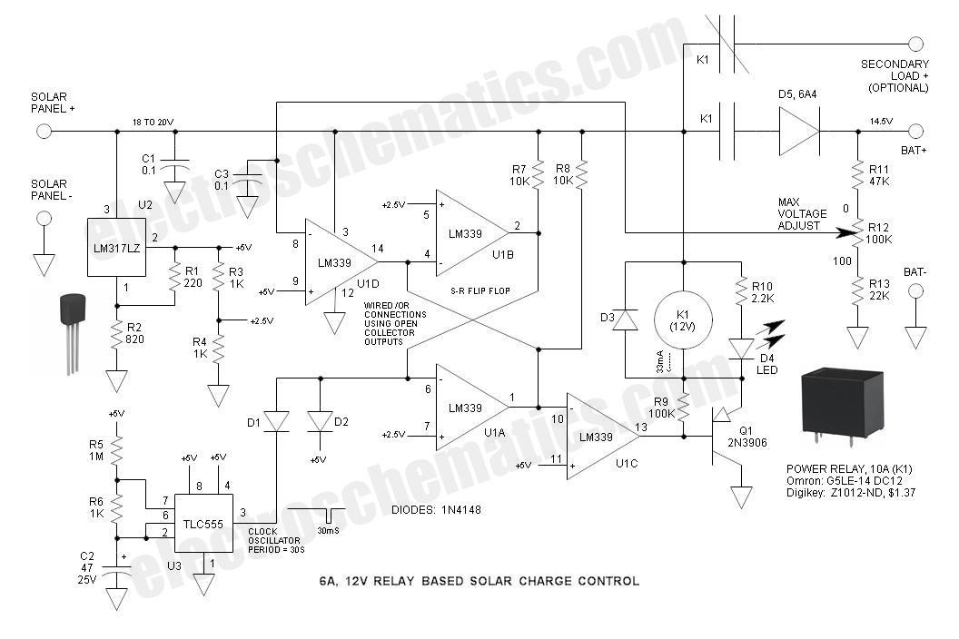 mppt charge controller schematic