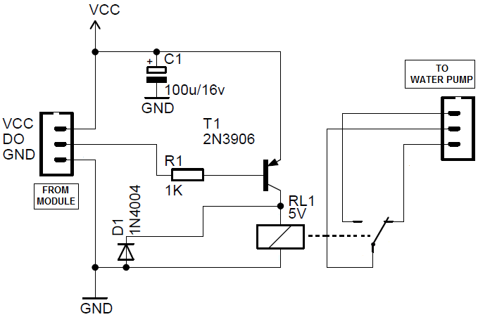 how to use a relay build circuit
