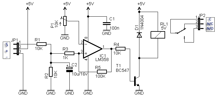 rf relay switch circuit