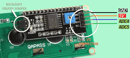 Led Ke Light Wiring Diagram Arduino I2c Lcd Backpack Introductory Tutorial