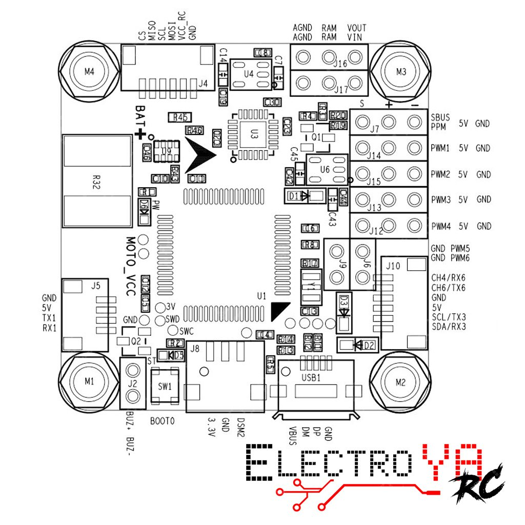 brushed esc wiring diagram
