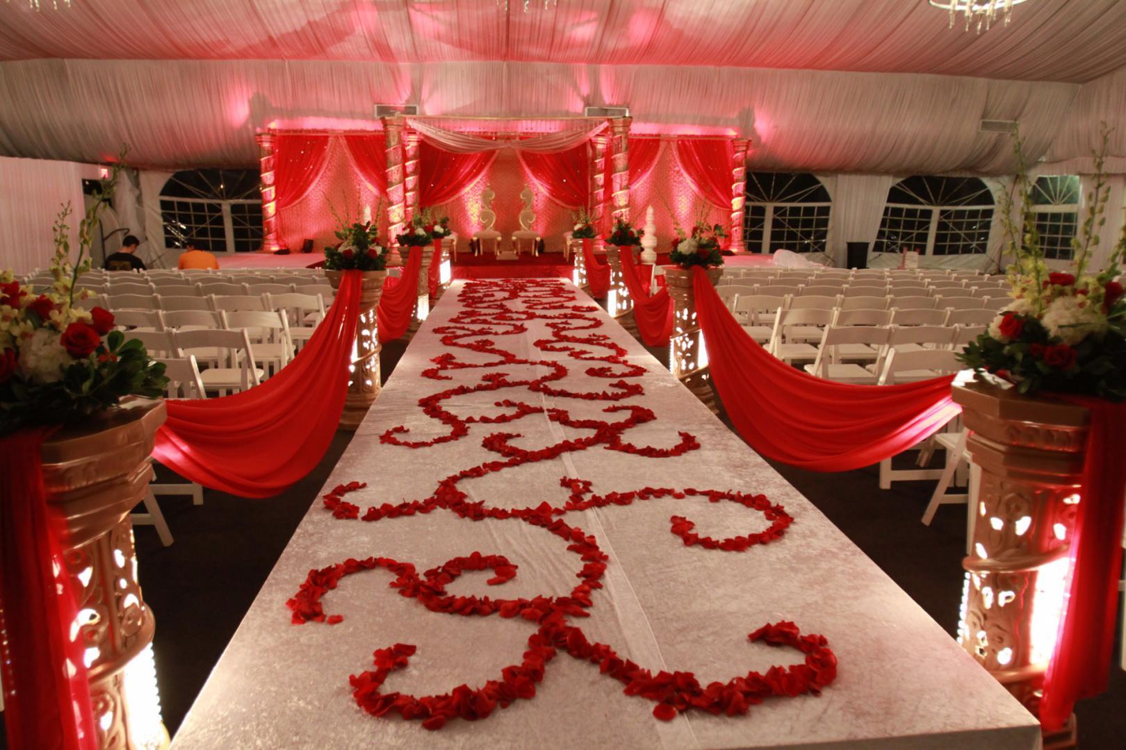 welcome my first blog floral designs wedding aisles wedding aisle decorations red rose petal aisle design indian wedding decor mandap