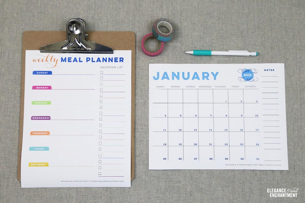 Free Printable Meal Planner - printable meal planner
