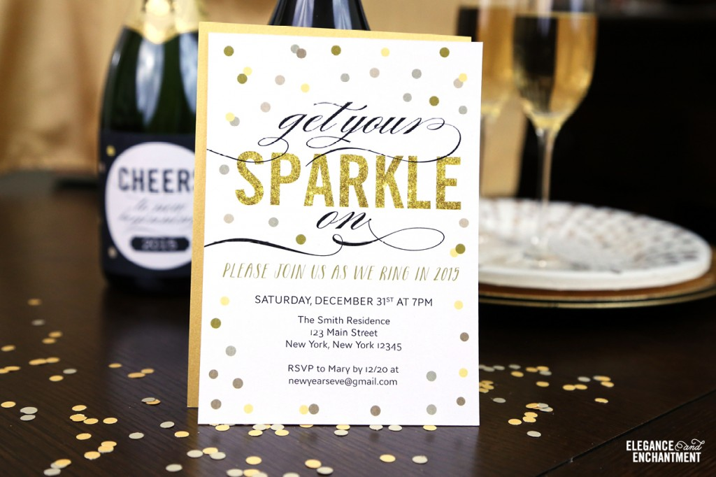 Free Printable New Year\u0027s Eve Party Invitation - free e party invites