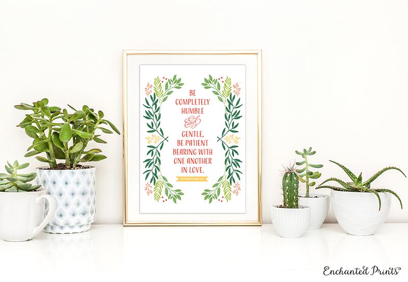 20 Bible Verse and Scripture Art Printables - Elegance  Enchantment