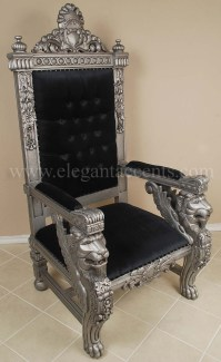 Black King Throne Chair | www.imgkid.com - The Image Kid ...