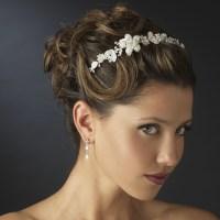 Wedding Hair Headband | wedding hair accessories white ...