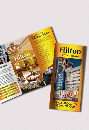 Free Hotel and Motel Tri-Fold PSD Brochure \u2013 by ElegantFlyer - hotel brochure template