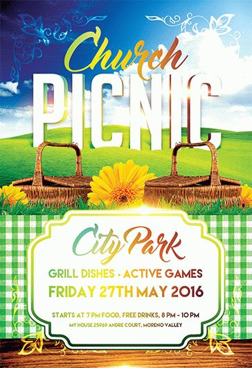 picnic flyers - Deanroutechoice - picnic flyer template