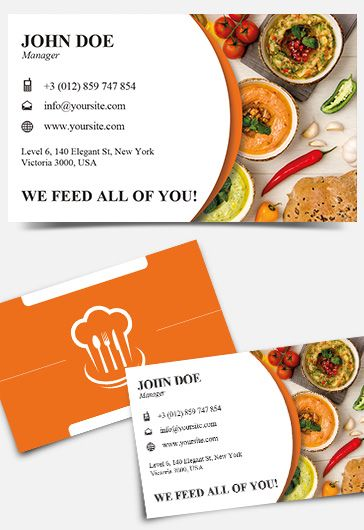 Free \u2013 Food Menu Tri-Fold PSD Brochure Template \u2013 by ElegantFlyer