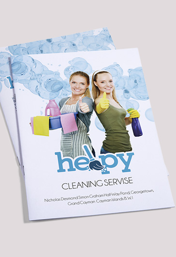 Cleaning Services Bi-Fold Template \u2013 by ElegantFlyer - cleaning brochure template