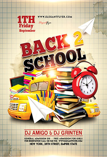 Flyer for Back to School \u2013 by ElegantFlyer - back to school flyers