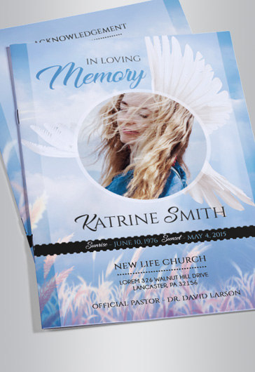 funeral poster templates