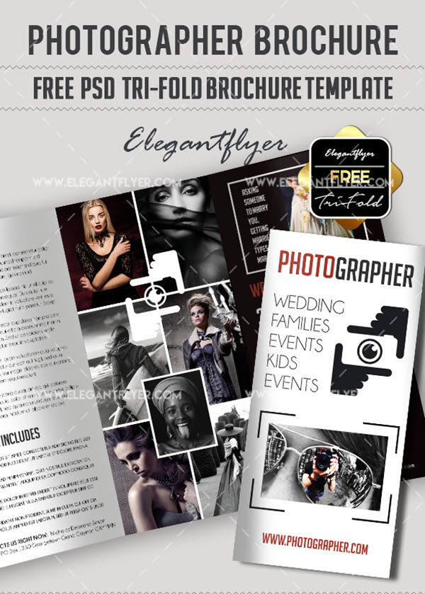 10 Free  Exclusive Photography Brochure Templates in PSD by