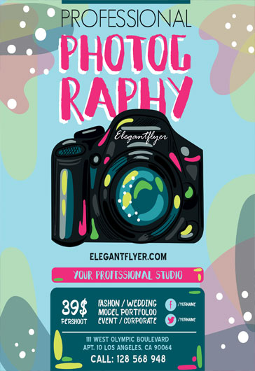 Free Business Flyers Templates in PSD by ElegantFlyer - free business flyers templates