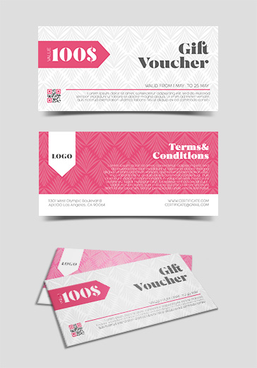 Free Gift Certificate Templates for Photoshop (PSD) by ElegantFlyer
