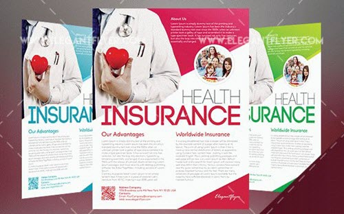 15 Free  Premium Flyer PSD Templates for Insurance Agency Promotion - insurance flyer templates