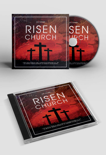 Free Cd Cover Templates in PSD Download and Customize by ElegantFlyer