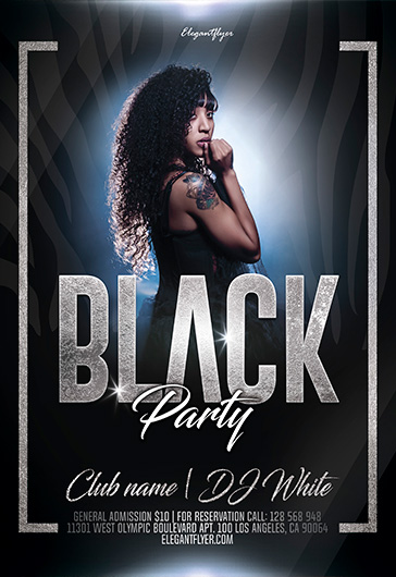 Free Party Flyer Templates in PSD by ElegantFlyer