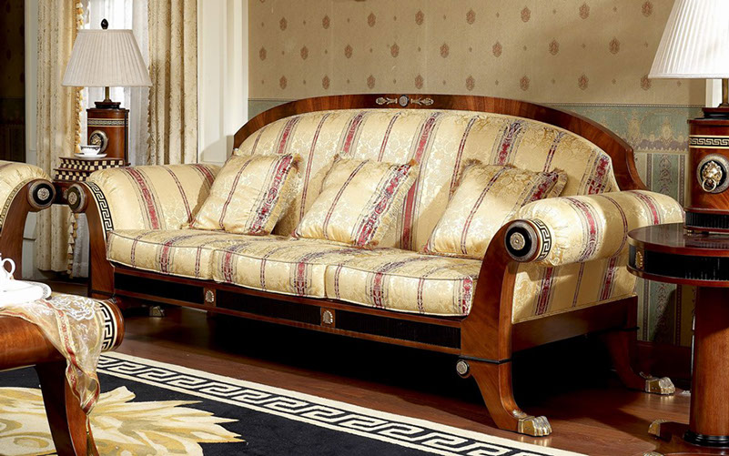 Elegant Traditional Couch Elegant House | Classic Italian, European and French Luxury Furniture