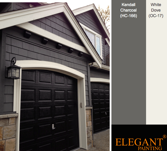 Gray exterior paint colors elegant painting for Gray exterior house paint color