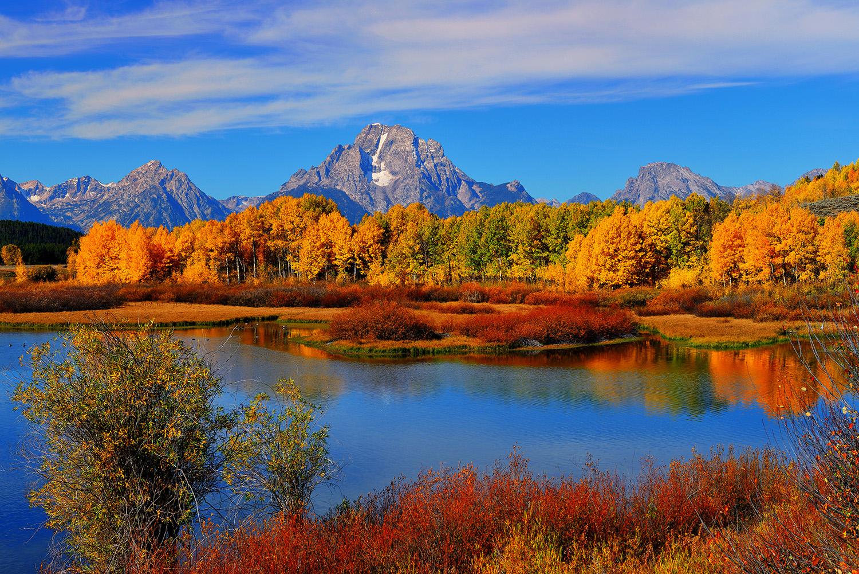 Fall Farm Desktop Wallpaper Fine Art Nature Photography From Grand Teton National Park