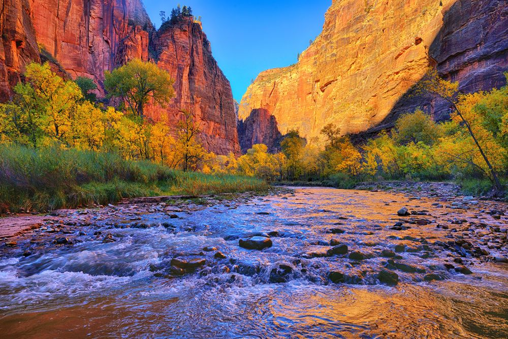 American Wallpaper Fall River Fine Art Nature Photography From Zion National Park And