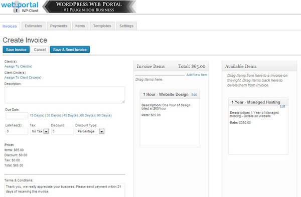 How To Invoice Your Clients Using WordPress Elegant Themes Blog - how to invoice a client