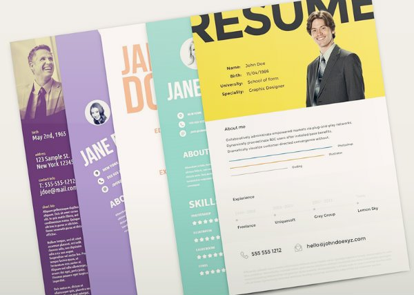 20+ Free Resume Design Templates for Web Designers Elegant Themes Blog - Resume Design