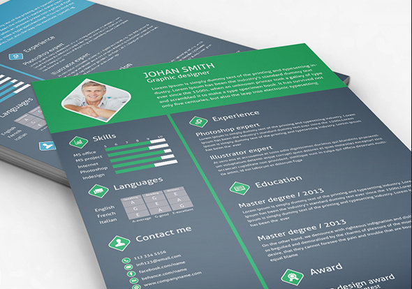 20+ Free Resume Design Templates for Web Designers Elegant - awesome resume template