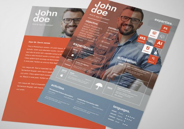 20+ Free Resume Design Templates for Web Designers Elegant Themes Blog
